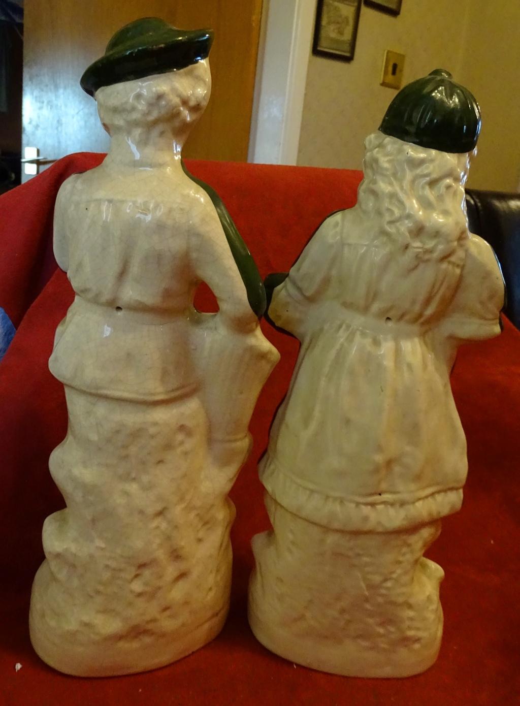 Pair of Large Figurines -  590b10