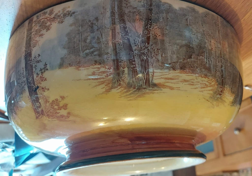 Can anyone tell me the age of this Royal Doulton Bowl Please Rd210