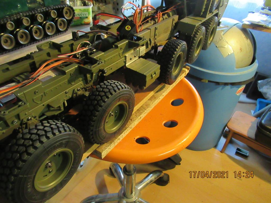 Camion militaire Américain au 1/12, d'origine Chine. 2021-028