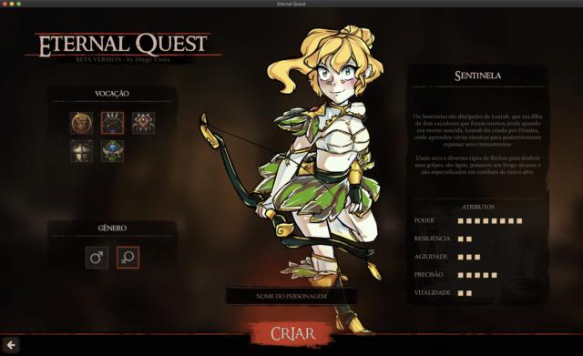 Eternal Quest - Lançamento MMORPG Create12