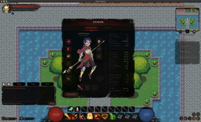 Eternal Quest - Lançamento MMORPG Player10