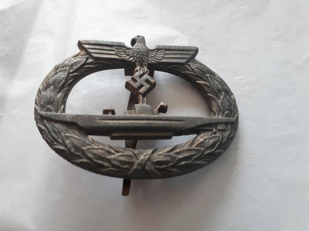 Identification insigne sous marinier et blessés 1er GM Img_3912