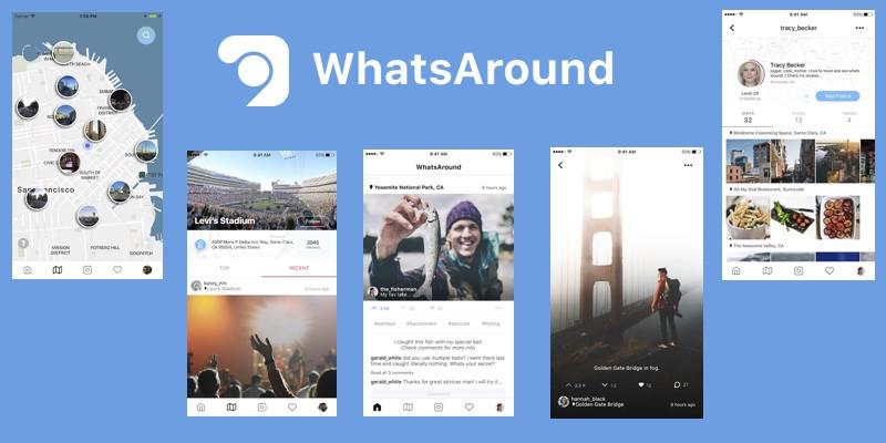 Oportunidade [Testar] WhatsAround -Ganha com rede Social 1_nse510