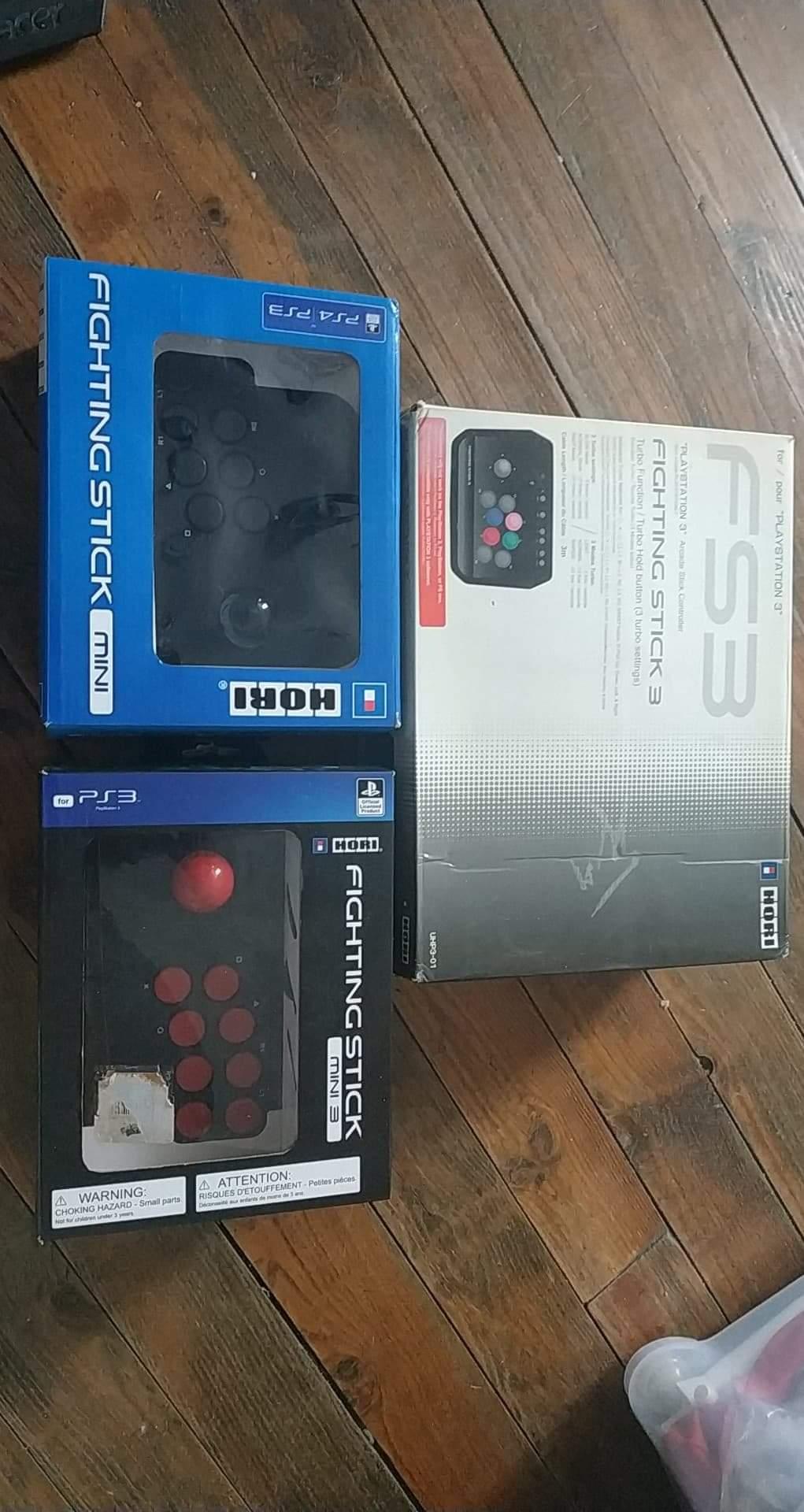 Lot stick arcade PS 3/4 Img_1510