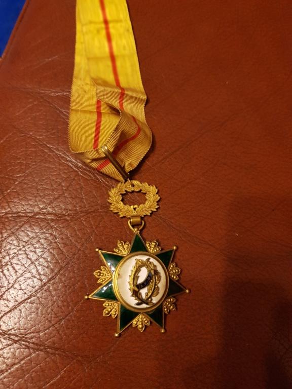 Différente médailles commandeur 20191220