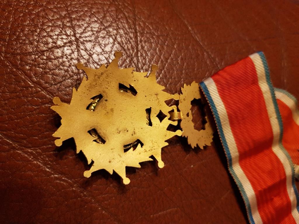 Différente médailles commandeur 20191221