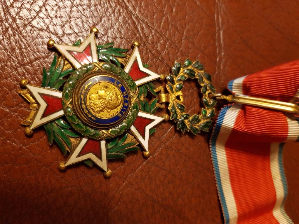 Différente médailles commandeur 20191223
