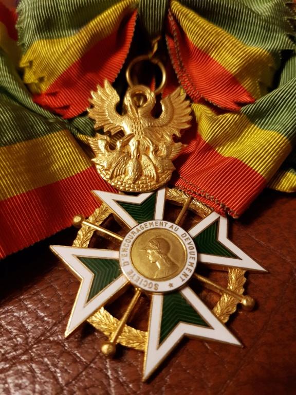 Différente médailles commandeur 20191226