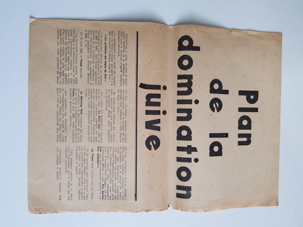 Tract propagande anti juive  20200310