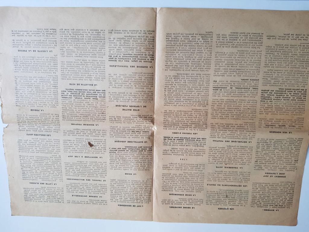 Tract propagande anti juive  20200311