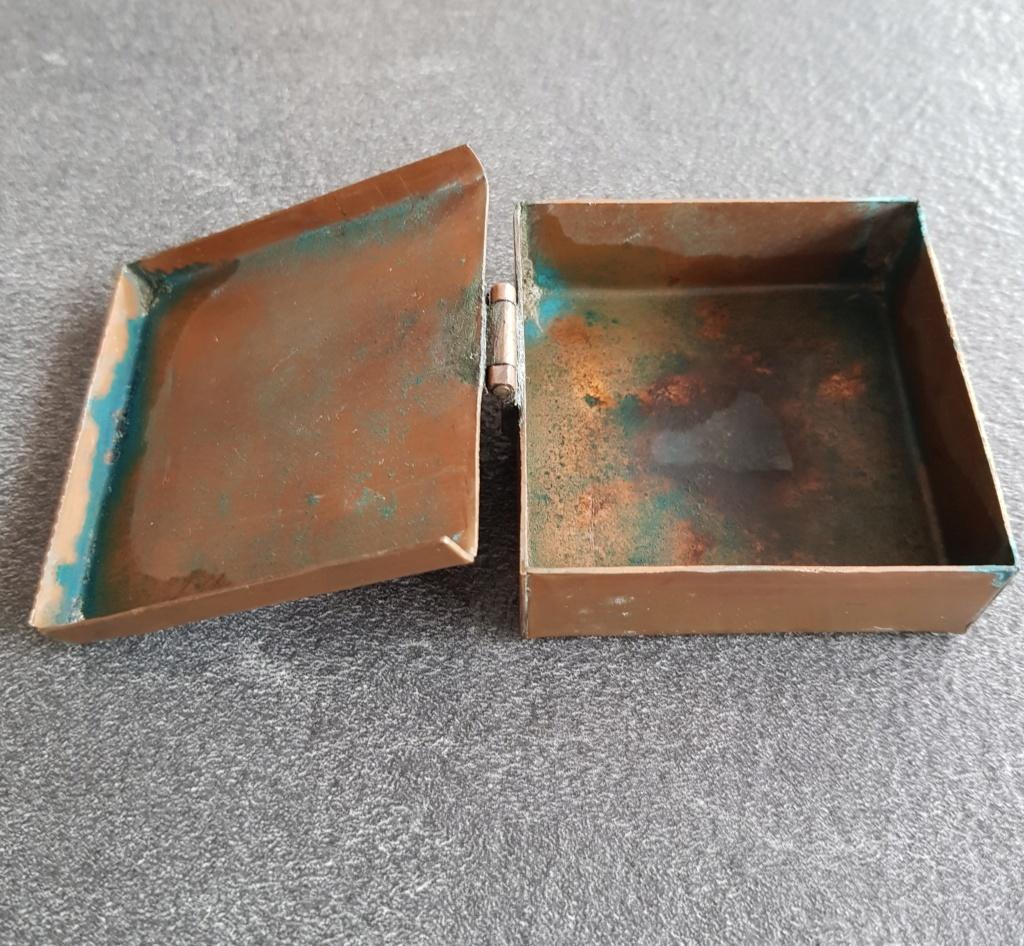 Boite en cuivre inconnu 20200446