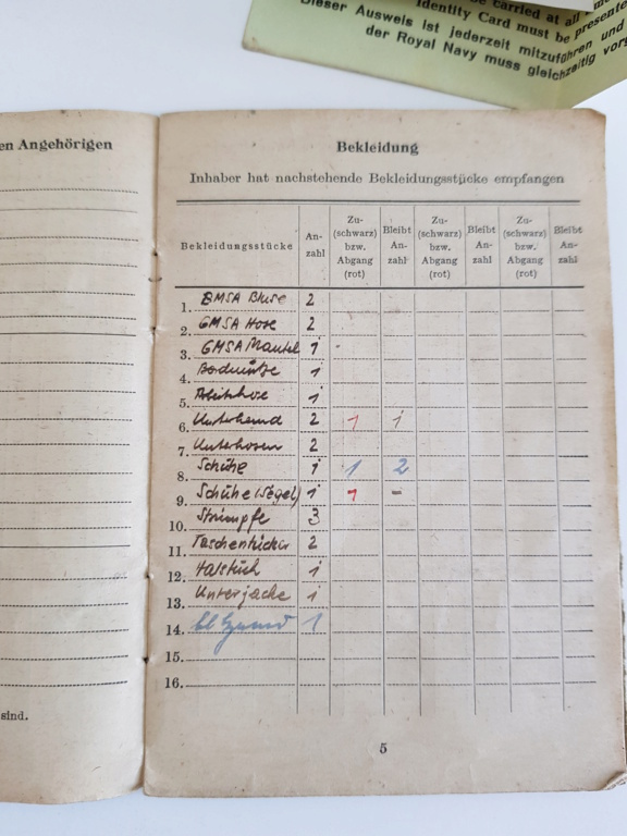 2 grouping soldbuch heer et kriegsmarine Pow démineur  20200731