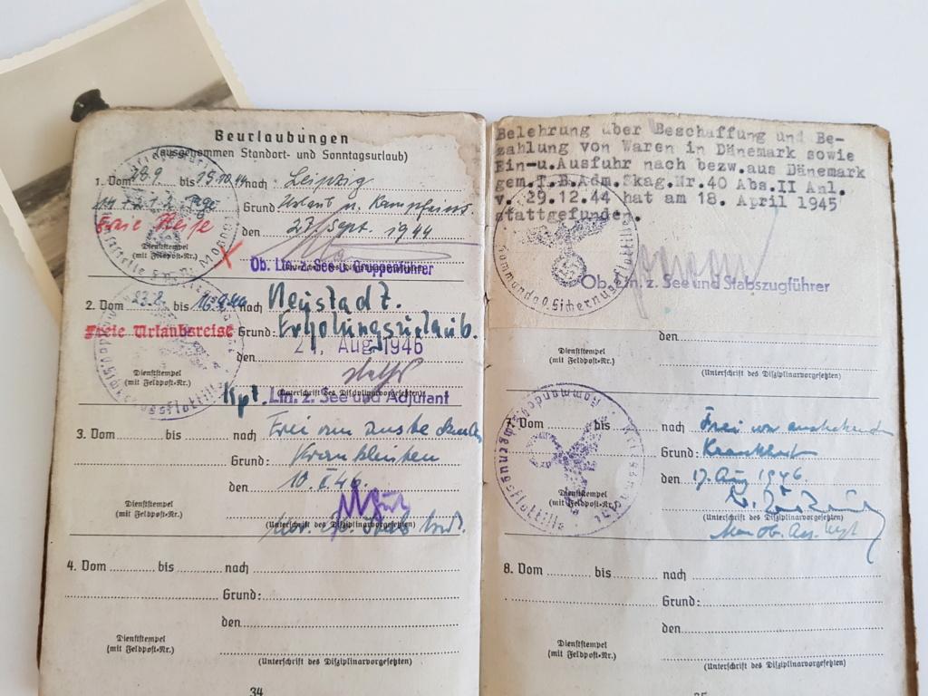 2 grouping soldbuch heer et kriegsmarine Pow démineur  20200740