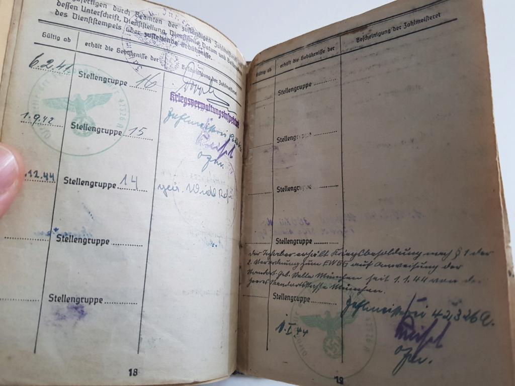 2 grouping soldbuch heer et kriegsmarine Pow démineur  20200754