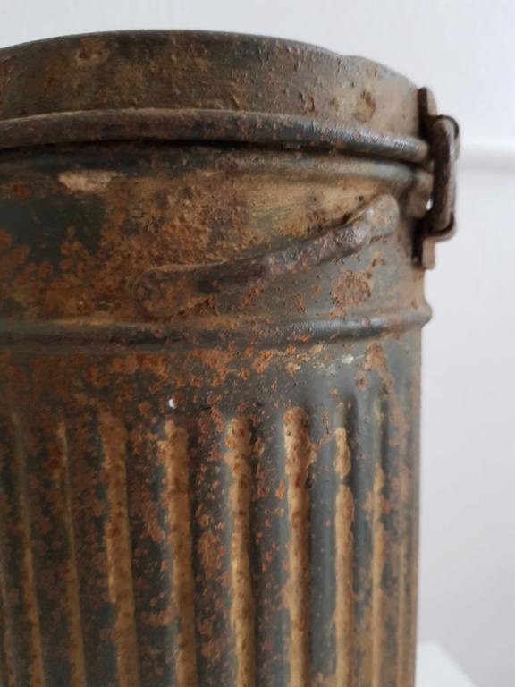 Boitier masque à gaz allemand camouflé  20200942