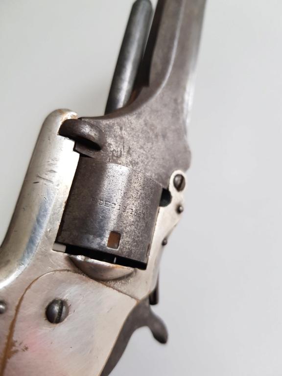 Revolver smith wesson springfield mass 1859 20201288