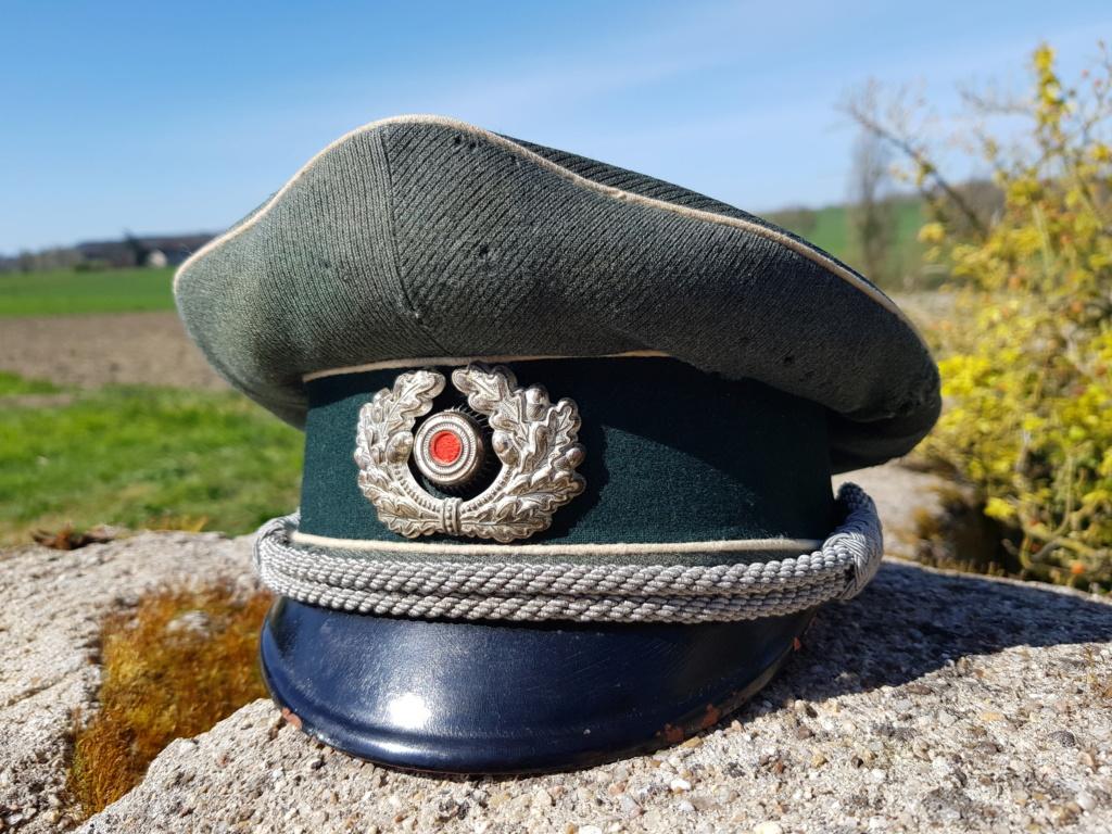 De la coiffe, schirmmütze, liner officier et casque para 20210364
