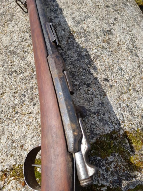 Fusils Gras modifié 1880 Tulle restauré  20210373