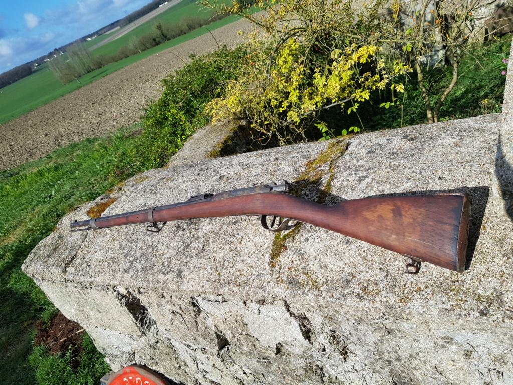 Fusils Gras modifié 1880 Tulle restauré  20210375
