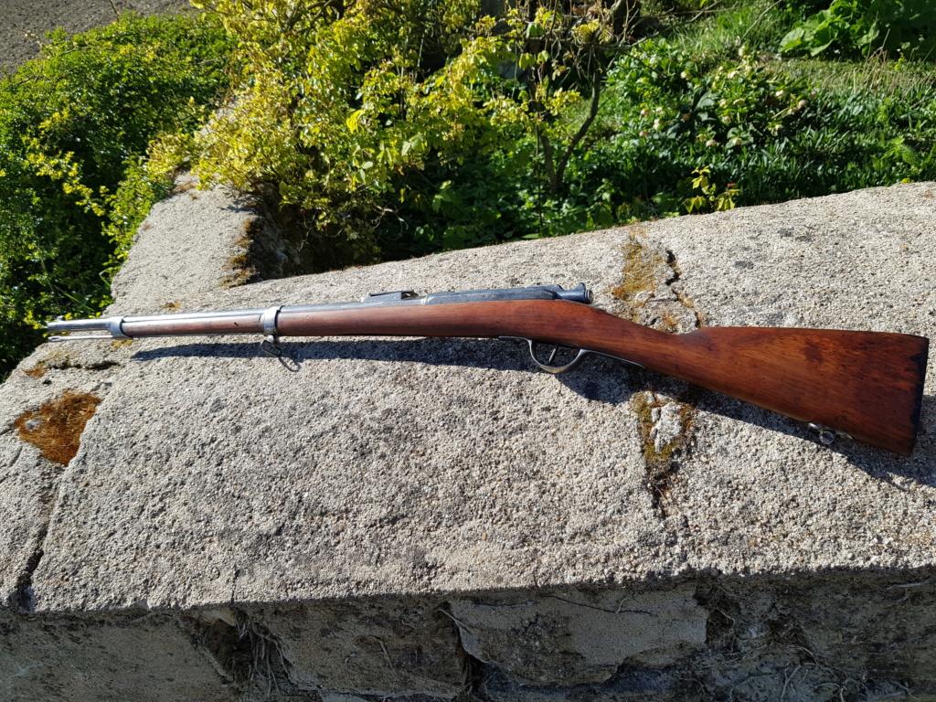 Fusils Gras modifié 1880 Tulle restauré  20210439