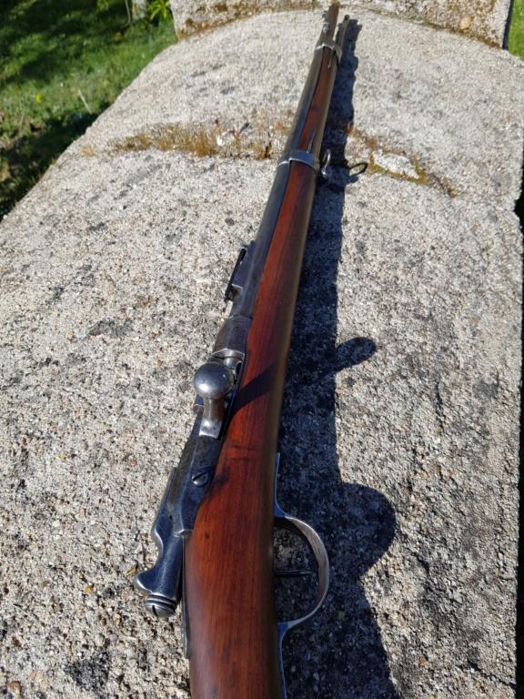Fusils Gras modifié 1880 Tulle restauré  20210442