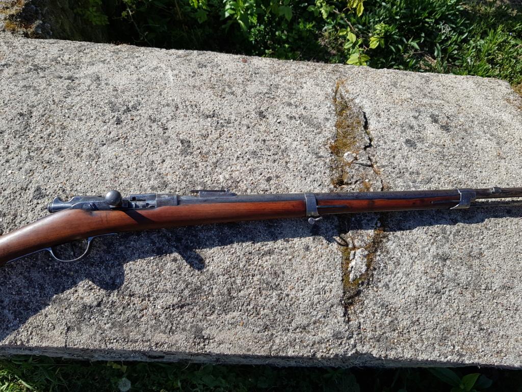 Fusils Gras modifié 1880 Tulle restauré  20210444