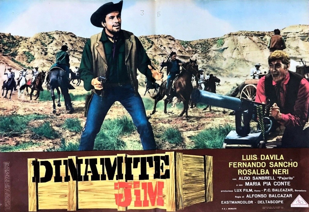 Dynamite Jim - Dynamita Jim - Dinamite Jim - 1966 - Alfonso Balcazar - Dinami10