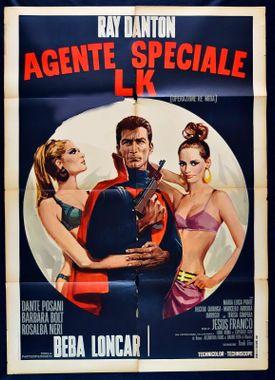 Opération Re Mida - Lucky l'intrepido - Jesus Franco - 1967 Operat12