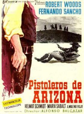 5.000 dollars sur l'as . Pistoleros de Arizona . 1964 . Alfonso Balcazar. Pistol10