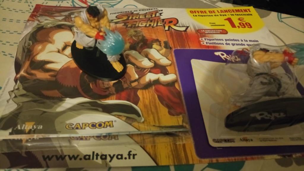 figurine ryu 1€99 chez ton marchand de journaux plus le fascicule après ont connais la musique  Dsc_0018