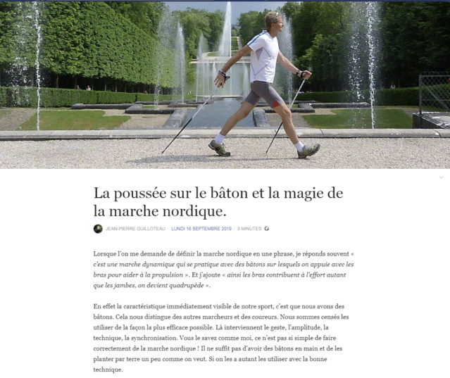 La poussée sur le bâton et la magie de la marche nordique. (de Jean Pierre Guilloteau) Jpg110