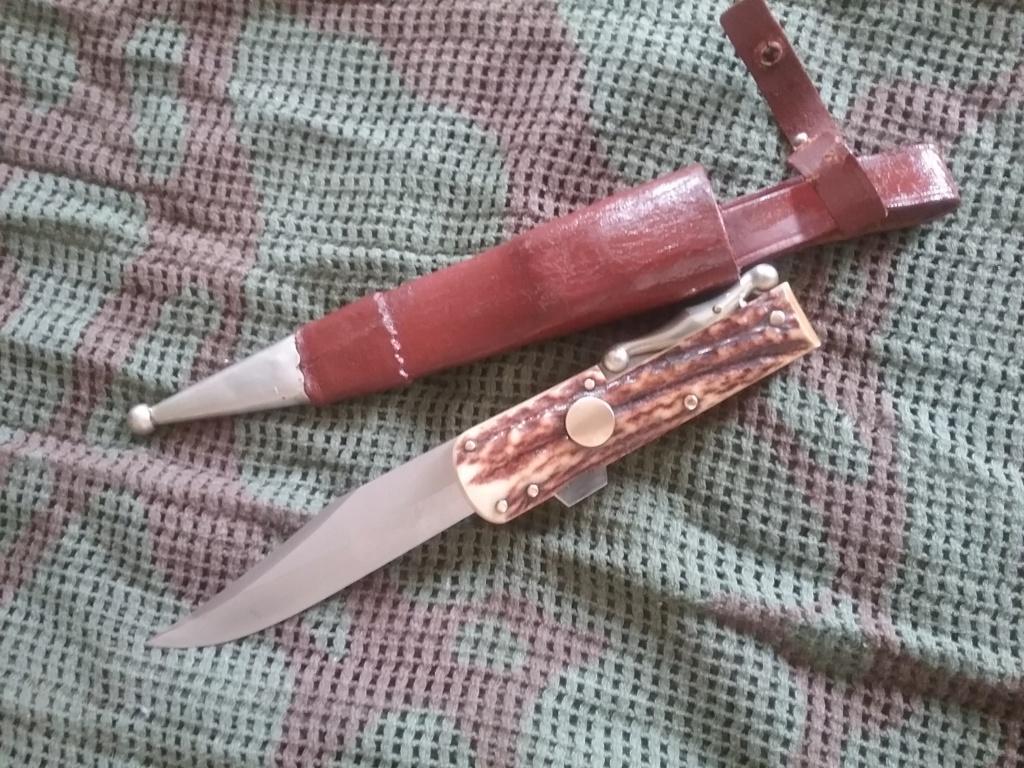 Couteau à la D'estaing handmade  20190821