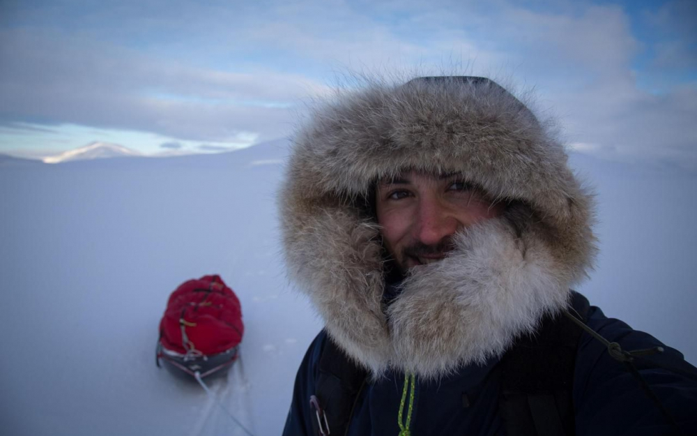 Il va tenter un périple de 1130 km à ski pour rejoindre le pôle Sud 79387110
