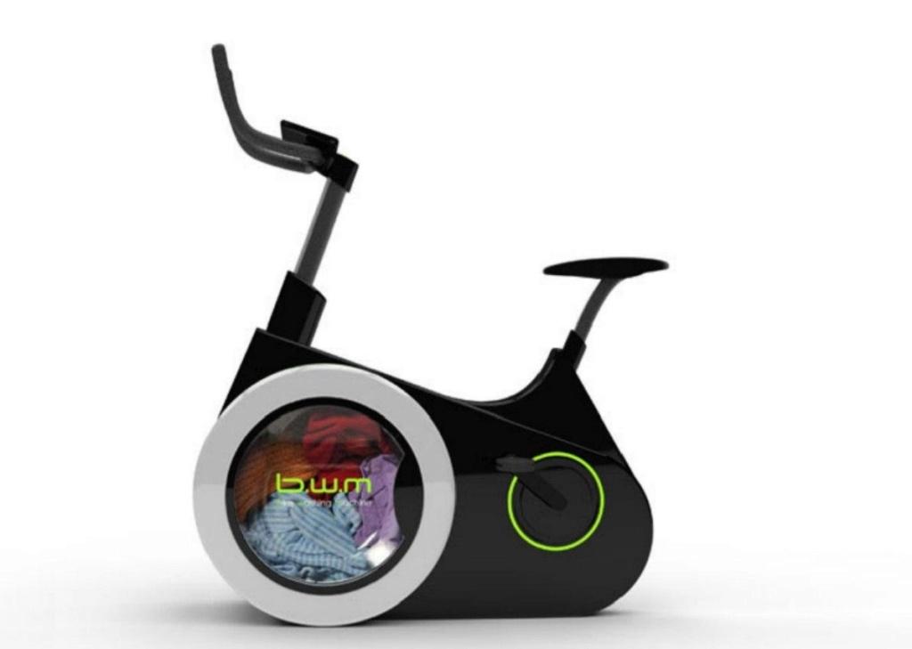 Un vélo écologique pour laver son linge en pédalant Bike-w10
