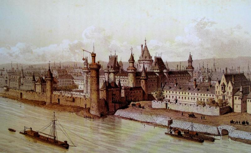 À quoi ressemblait Paris au Moyen-Âge ? Louvre10