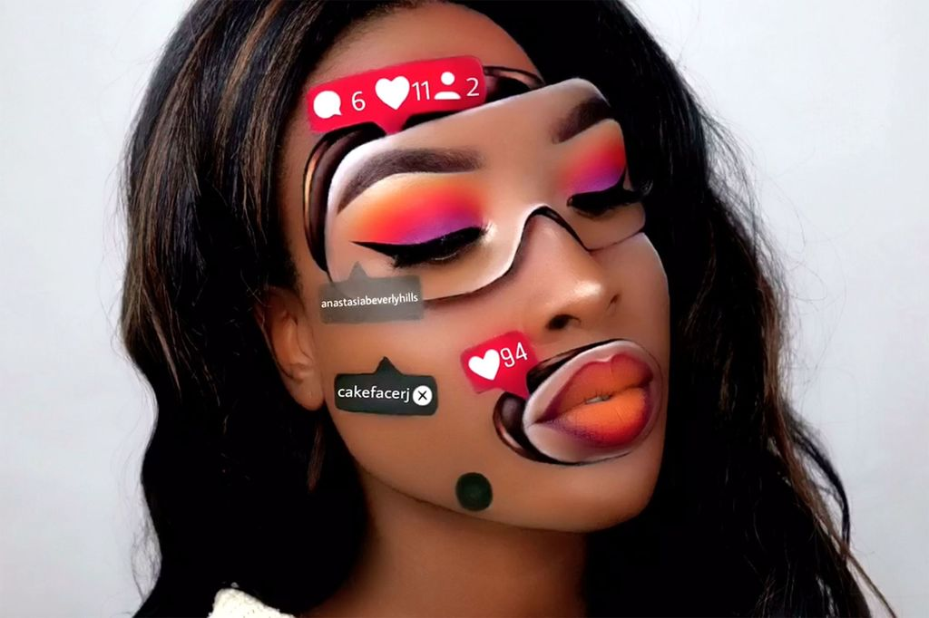 Maquillage : les incroyables illusions d'optique  Romani10