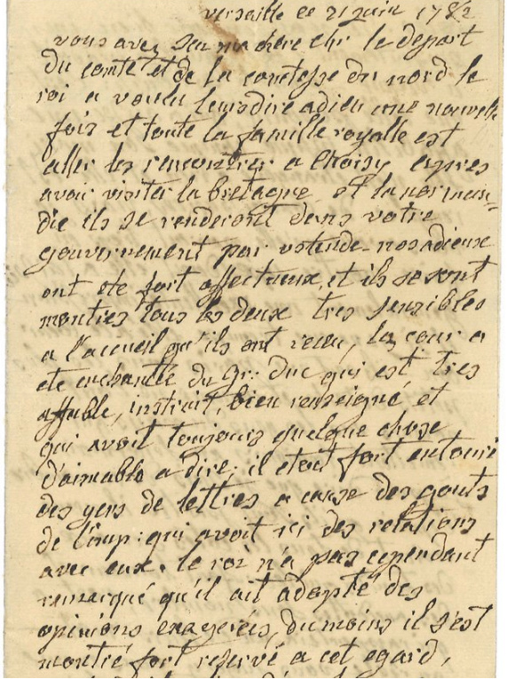 Une lettre de Marie-Antoinette à vendre !  Zzzz10
