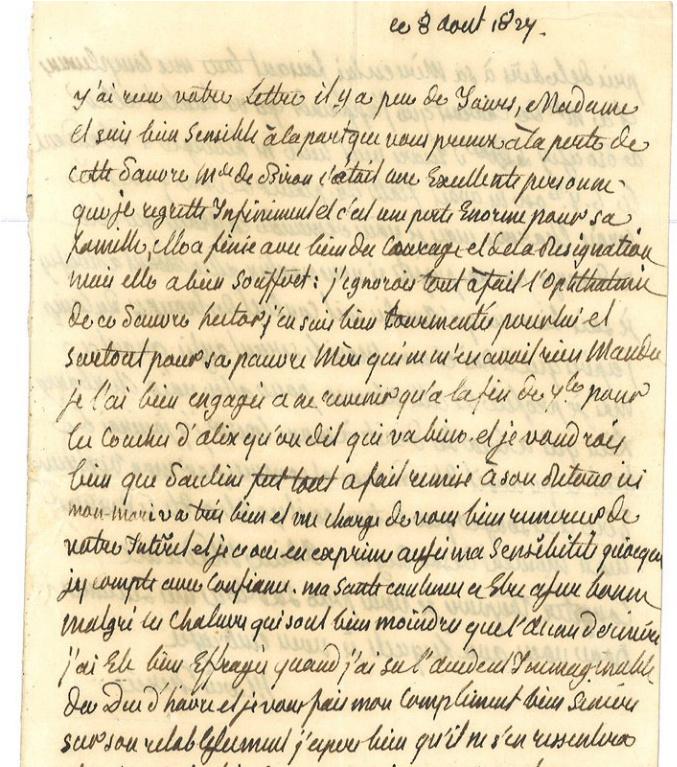 Une lettre de Marie-Antoinette à vendre !  Zzzz11