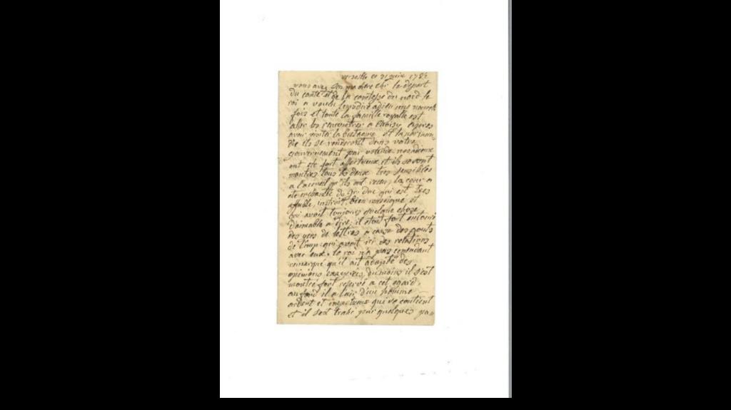 Une lettre de Marie-Antoinette à vendre !  Zzzz211