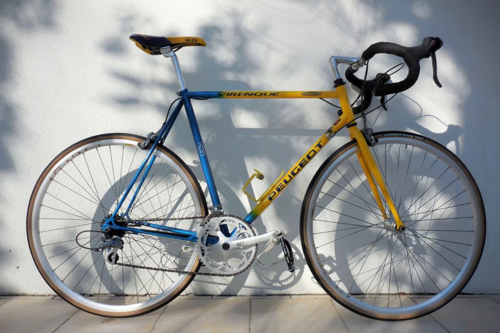 """sortie vintage en vélos PEUGEOT Course """" circuit raymond POULIDOR"""" Mai 2021  2020-143"""