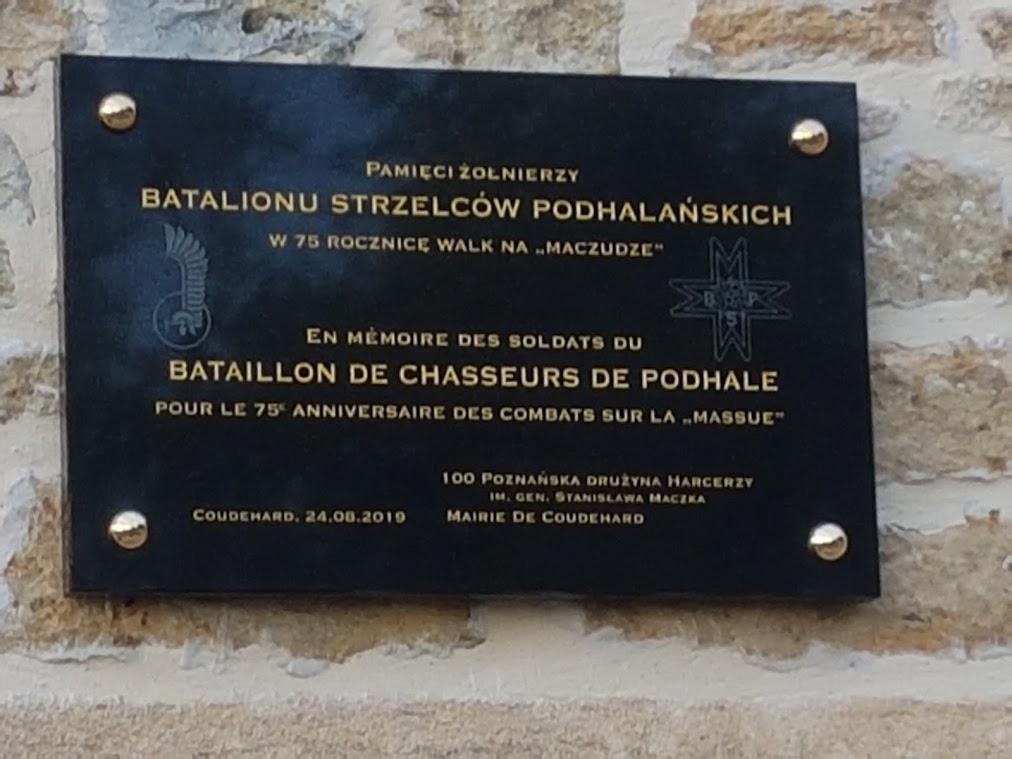 75iéme anniversaire de fermeture de la poche de Falaise /Chambois 20190819