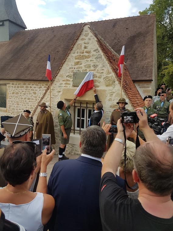 75iéme anniversaire de fermeture de la poche de Falaise /Chambois 20190822
