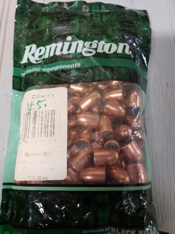 SOLD- 45 Cal Zero & Remington 230gr FMJ RN Bullets 20210612