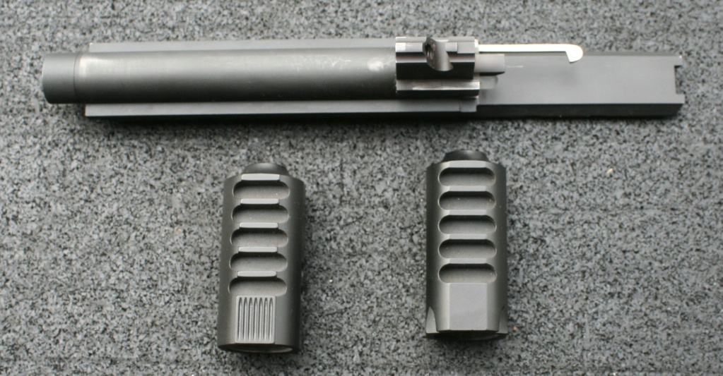 WTS Nelson Threaded Barrel With Scope Rail & Two Barrel Weights Img_8013