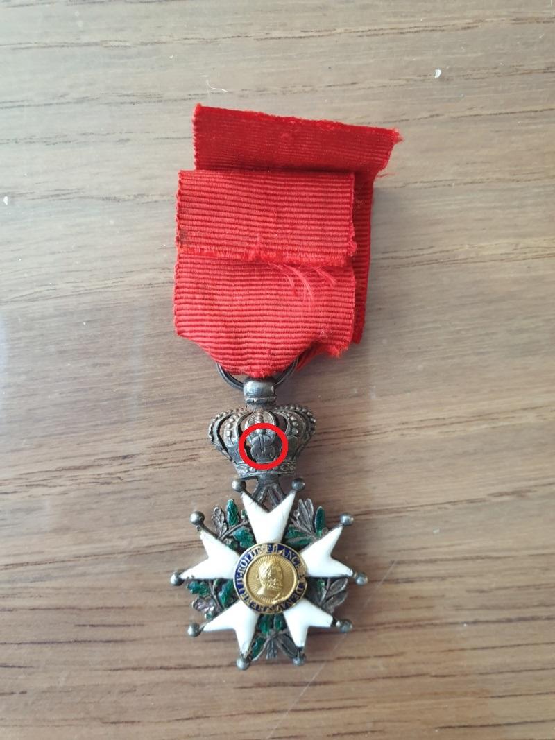 Legions d'honneur Henri IV avec courronne impériale 20190928
