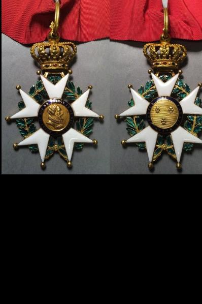 Legions d'honneur Henri IV avec courronne impériale Canvas10