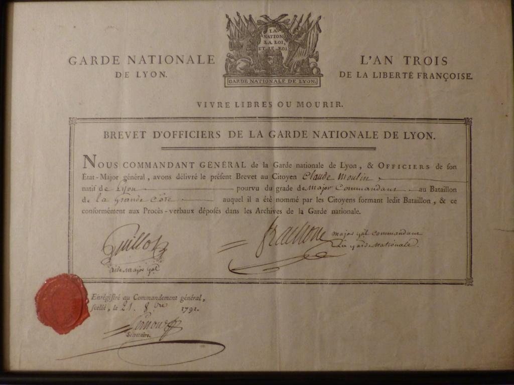 certificat d'existence et brevet d'officier   P1090511