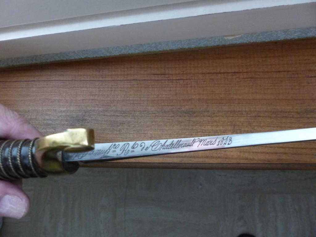 sabres de cannoniers époque louis-philippe P1090611