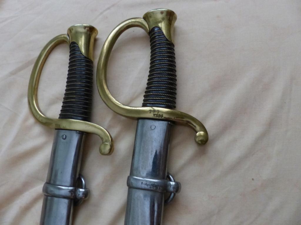 sabres de cannoniers époque louis-philippe P1090616