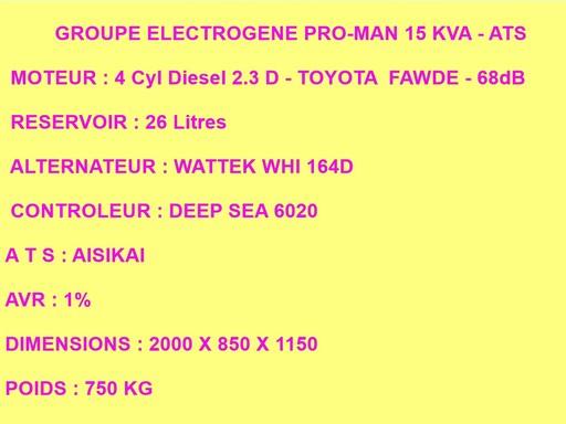 57 - GROUPE ELECTROGENE NEUF 15 KVA DIESEL INSONORISE 57-gr_10